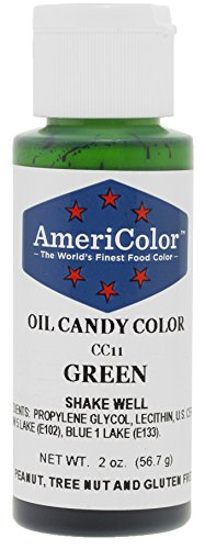 Americolor Candy Oil - GREEN 2 OUNCE CANDY OIL COLOR]()