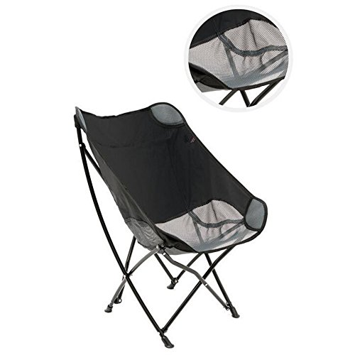 ARAYACY Outdoor Camping Portable Folding Chair Barbecue Fishing Chair Back Chair Leisure Chair Director Chair Beach Chair