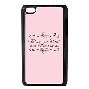 the Case Shop- Customizable Cinderella Hard Plastic Case Cover For IPod Touch 4th , p4xq-324