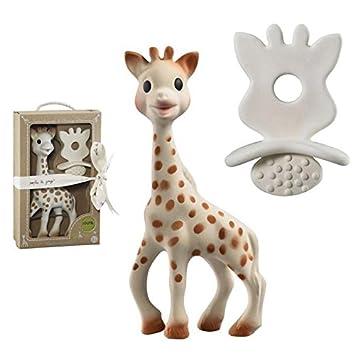 beige 1 Schnuller//Zahnungshilfe SO/'PURE VULLI 616624 Sophie la girafe