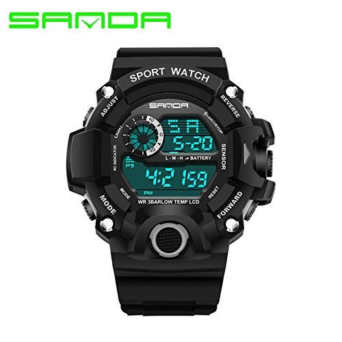 Buycrafty Children Kids Watch Fashion Sanda Brand Led Digital Watches Waterproof Casual Clock Boy Girl Students Wristwatch Montre Enfant by Buycrafty
