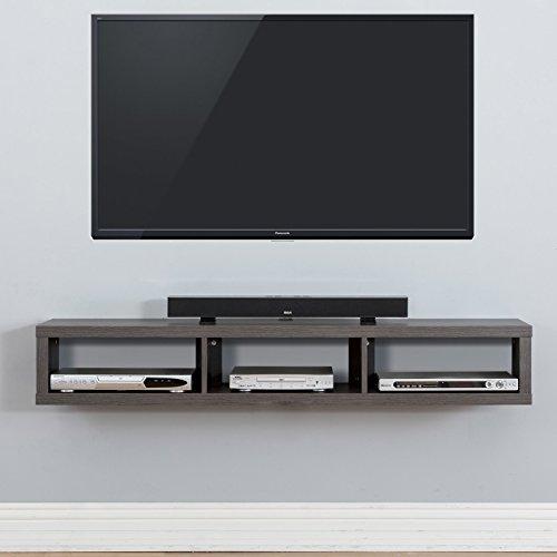 martin furniture shallow wall mounted tv shelf stupidprices