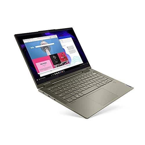 Lenovo Yoga 7i 14 Inch 2-in-1 Convertible Laptop (Intel Core i7 11th Gen, 8GB RAM, 512GB SSD Storage, Intel Iris Xe…