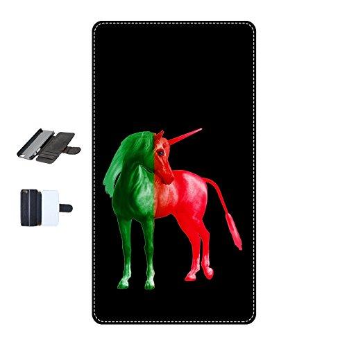 Housse Iphone 5-5s-SE - Licorne Portugal noir