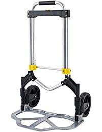 Oversized Luggage Cart, Folding Travel Trolley Cart Dolly 330 lbs Capacity Multi-Use Carrier