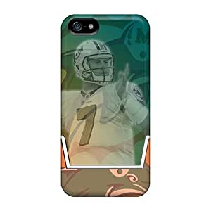 New Miami Dolphins Cases Covers, Anti-scratch RobertWood Phone Cases For Iphone 5/5s
