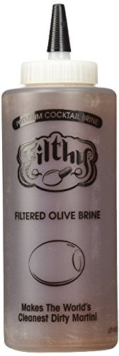 Filthy Olive Brine Juice - 12 Oz Pack of - Prices Vodka Olives Three