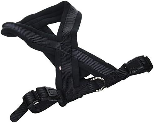Trixie 204001 Arnés Confort New Premium, 50-80 cm / 25 mm, Negro ...