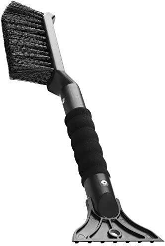 """AD AIDO 27/"""" Snow Brush Heavy Duty ABS and PC Brush Ice Scraper Car Duster Brush and Detachable Deluxe Auto Car Snow Ice Removal Tools with Ergonomic Foam Grip"""