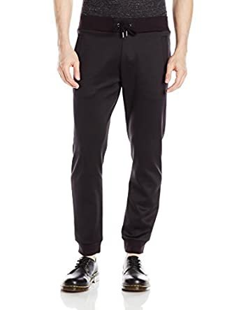99a62236 Versace Jeans Men's Felpa Jogger Pant, Black, Medium: Amazon.in ...