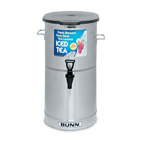 BUNN TDO-4 Commercial Iced Tea Dispenser w/Solid Lid, Oval by BUNN (Image #1)