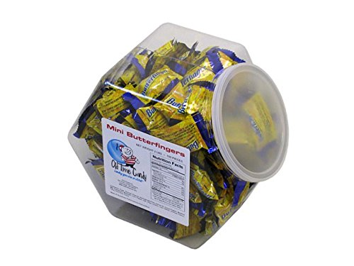 Butterfingers Mini Bars - 2 lb Plastic Tub (85 ct)