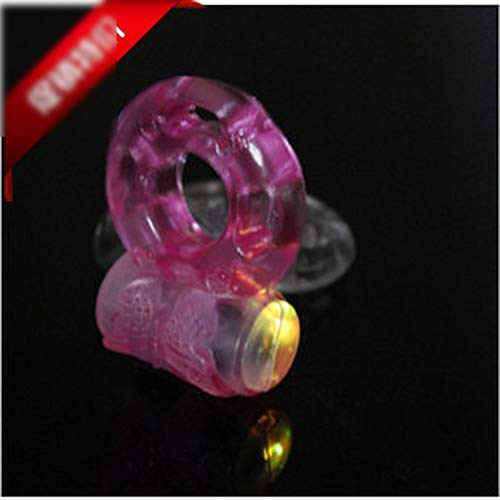 Smart Flash Super Power Butterfly Vibrating Ring Vibrating Ring Sexual Health Products Sex Toys Adult Products,1 Pack