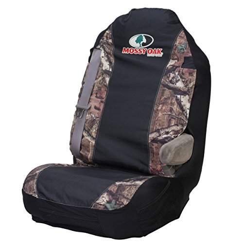 Mossy Oak Seat Covers (Mossy Oak Camo Universal Bucket Seat Cover (Mossy Oak Infinity Camo, Heavy-Duty Polyester Fabric, Sold Individually))