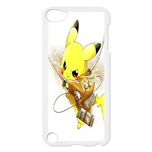 [AinsleyRomo Phone Case] FOR Ipod Touch 5 -Pockmon Pikachu Pattern-Style 12