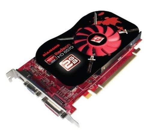 Diamond Multimedia 6570PE32G AMD Radeon HD 6570 2 GB GDDR3 Video Card - PCI Express 2.1 x16 - 1 x HDMI, 1 x D-SUB, 1 x DVI (Certified Refurbished)