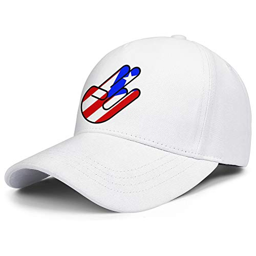 Subdued American Flag Shocker Hand Baseball caps Custom hat dad Mens Adjustable Snapback Ball caps