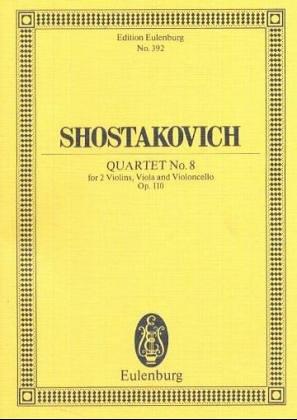 Quartet No 8 Op110 String - 2