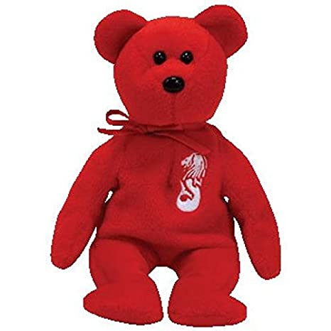 c7ca797e848 Amazon.com  TY Beanie Baby - MERLION the Singapore Bear (Asia-Pacific  Exclusive)  Toys   Games