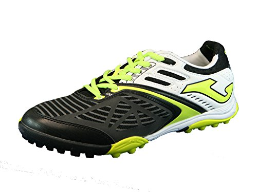 Joma Lozano 401 shoes black-lemon turf 40