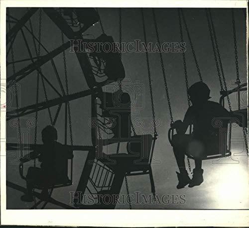1983 Press Photo Theme Park Rides at New York State Fair Midway - sya10030 (Best Theme Park Ride Photos)