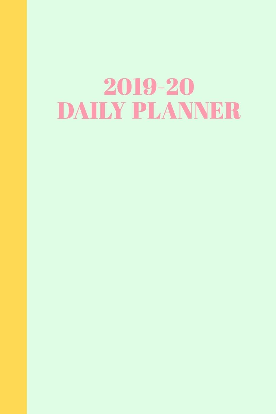 2019-20 Daily Planner: Academic Year Agenda with Monthly and ...