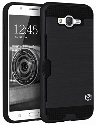 Slim Shockproof Case for Samsung Galaxy J7 (Black) - 7