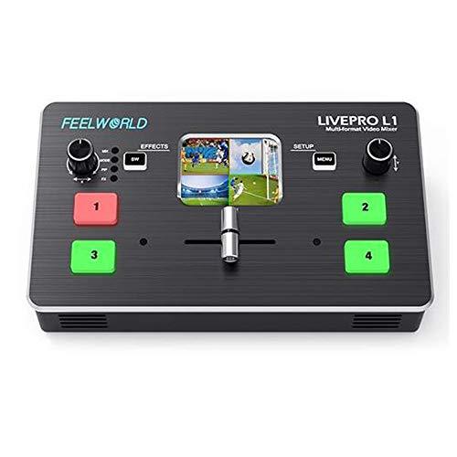 Feelworld LIVEPRO L1 Mezclador de vídeo multiformato