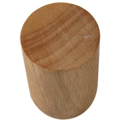Amazon.com: SODIAL(R)Brief modern wood cylindrical ...