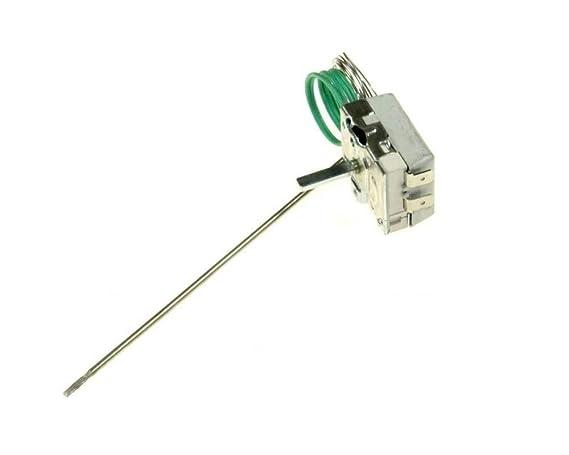 Termostato horno Metalflex 50/320 °C - 2 contactos - Longitud ...