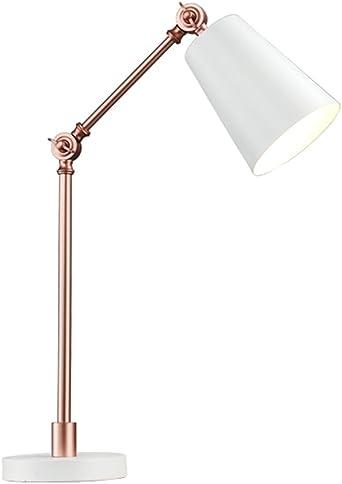 Multi Couleur Métal Cuivre Réglable Lecture Lampe De Table