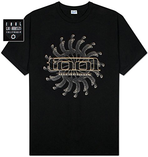 FEA Men's Tool Spectre Spiral Vicarious Men's T-Shirt,Black,XX-Large