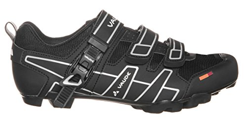 Vaude Exire Advanced RC - Zapatillas de ciclismo de material sintético para mujer Negro (Negro/Silver)
