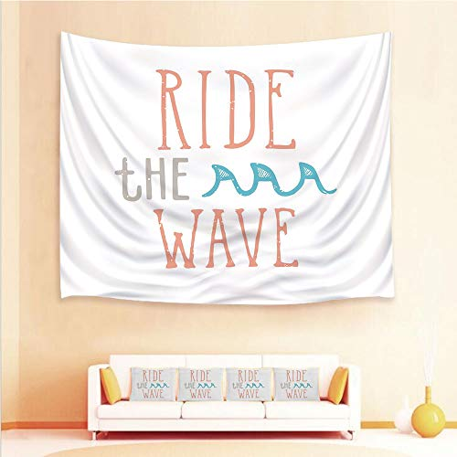 (iPrint 1pcs Hanging Tapestry and 4pcs Pillow case,Wall Hanging Blanket Beach Towels Picnic Mat Home Decor,Calligraphy Exotic Sports Activity Motivation,3D Printed Tapestry for Bedroom Living Room)