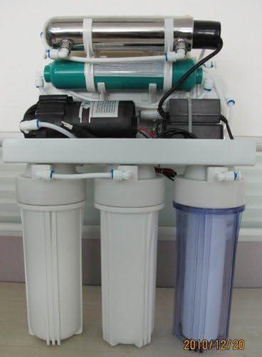 ICEBERGBIO-iceb-105-Filtro de agua debajo del fregadero ósmosis ...