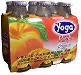Peach Nectar (Yoga) CASE (6 x 4.2 oz) (6 Pack) Bottles