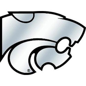 NCAA Kansas State Wildcats Chrome Automobile Emblem