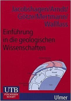 Book Einführung in die geologischen Wissenschaften.
