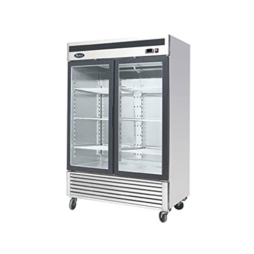 Atosa MCF8703 Bottom Mount (2) Two Glass Door Freezer