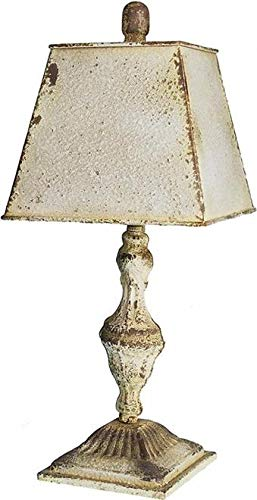 Provence Home Table Lamp 1-Light Metal New Candelabra Base 40W