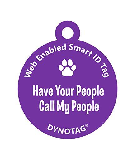 Dynotag Enabled Deluxe Coated Purple product image