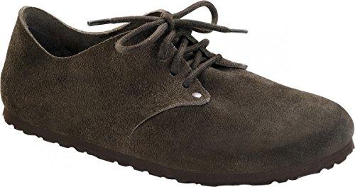 Birkenstock Maine Leder - Zapatos de cordones derby Unisex adulto Mocha