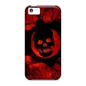 Fashionable Style Case Cover Skin For Iphone 5c- Gear Of War