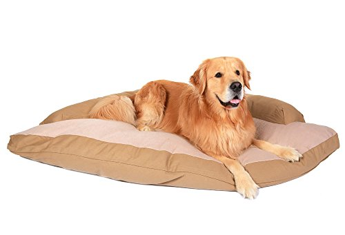 Corner Dog Bed with Bolster XXL 44