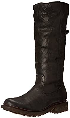 Amazon.com | FRYE Women's Valerie Sherling Pull-On Riding Boot ...