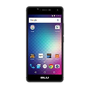 BLU R1 HD - 16 GB - Black - Prime Exclusive - with Lockscreen Offers & Ads
