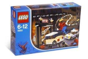 [해외] LEGO (레고) SPIDER-MAN (스파이더맨) SET #4850 SPIDER-MAN (스파이더맨) 'S FIRST CHASE 블럭 장난감 (병행수입)