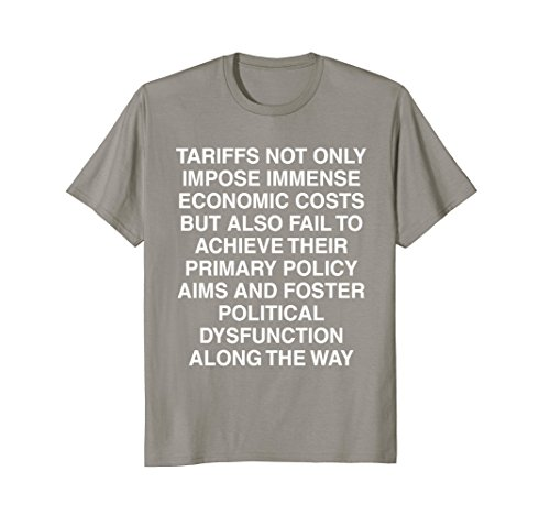 Tariffs Foster Political Dysfunction - Trump 2-Sided Shirt