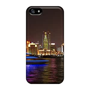 For HTC One M9 Phone Case Cover PC For HTC One M9 Phone Case Cover (festival Of Lights Shanghai At Night)