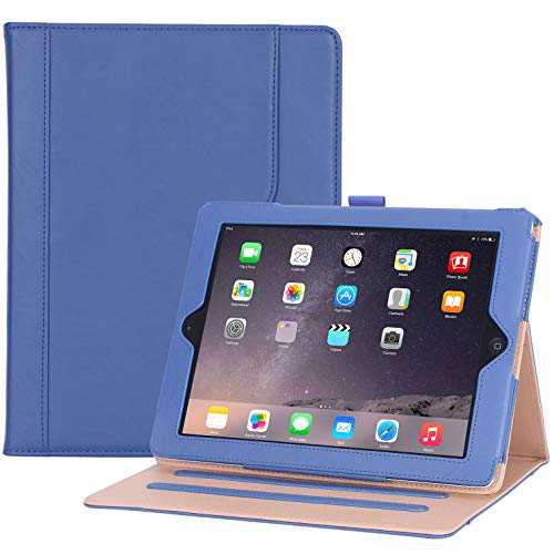 ProCase iPad 2 3 4 Case (Old Model) - Stand Folio Cover Case for Apple iPad 2/iPad 3/iPad 4 -Navy